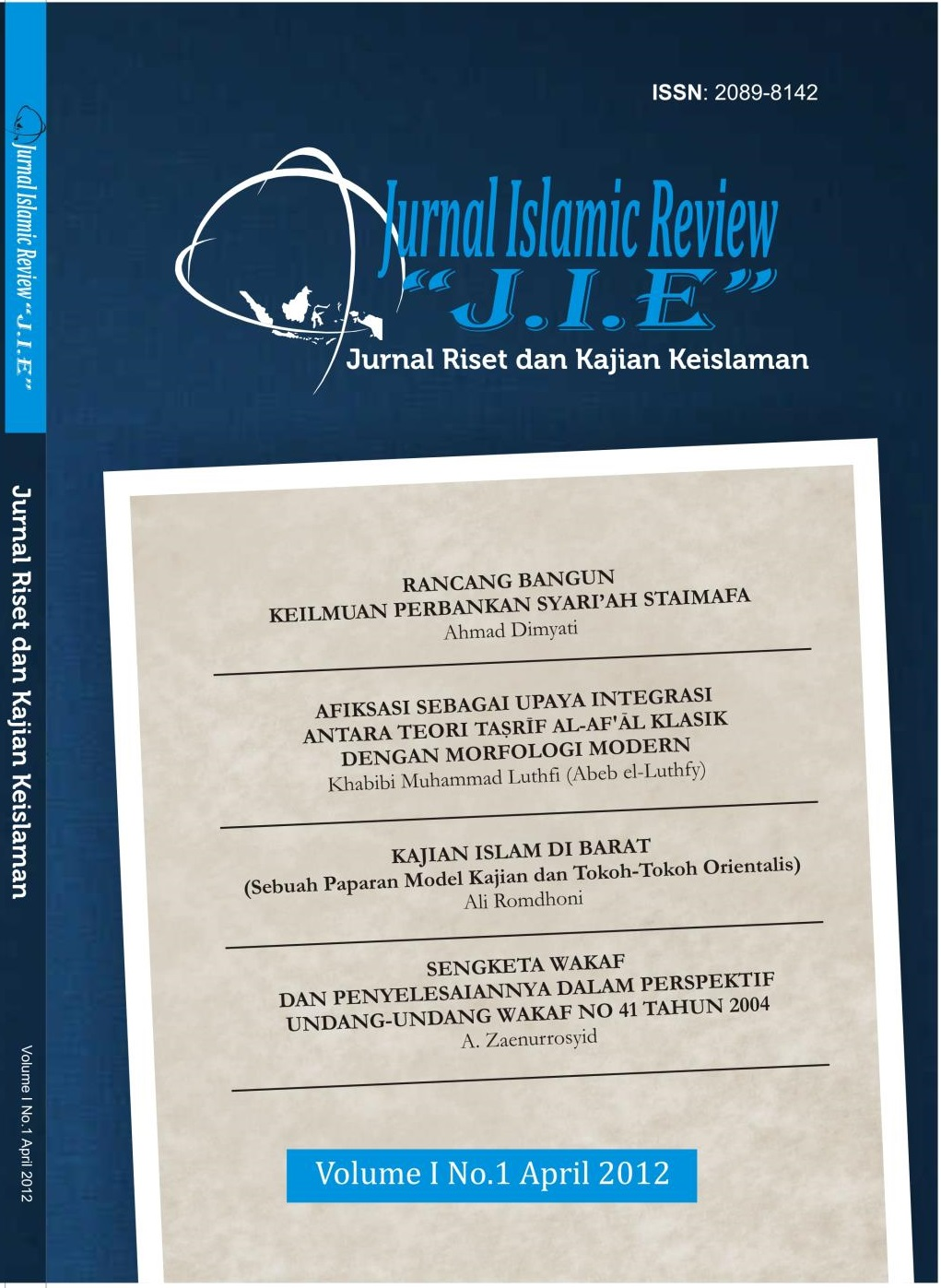 Jurnal Islamic Review IPMAFA Pati